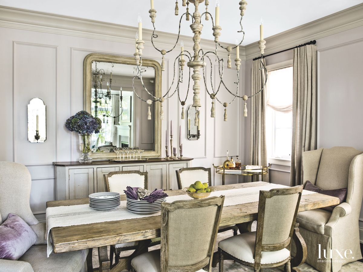 Passion for Vintage Pieces in the Dining Room