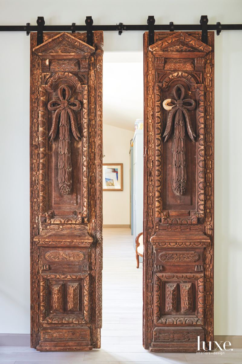 High-Relief, Hand-Carved Baroque Doors
