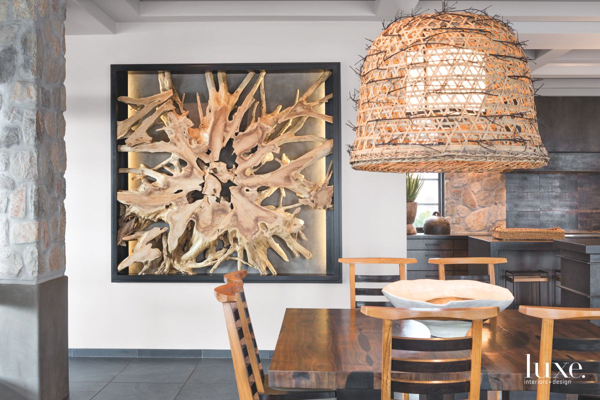 Dining Room Sculptural Wall