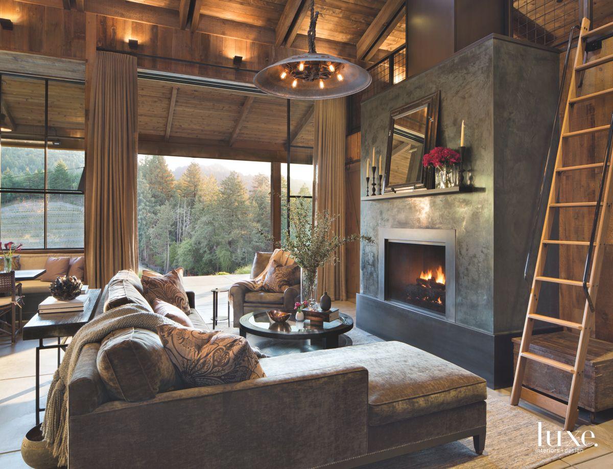 An Open Living Room