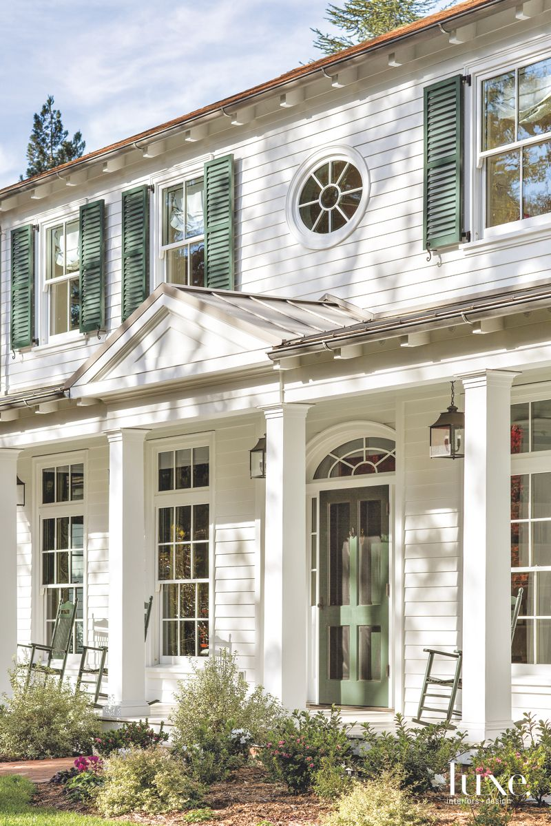 Southern-Inspired Atherton Home