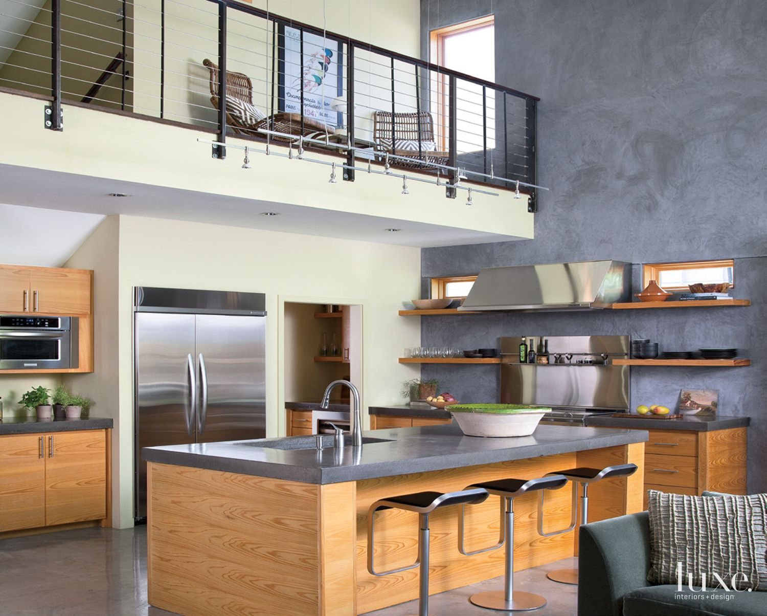 Modern Douglas Fir Kitchen