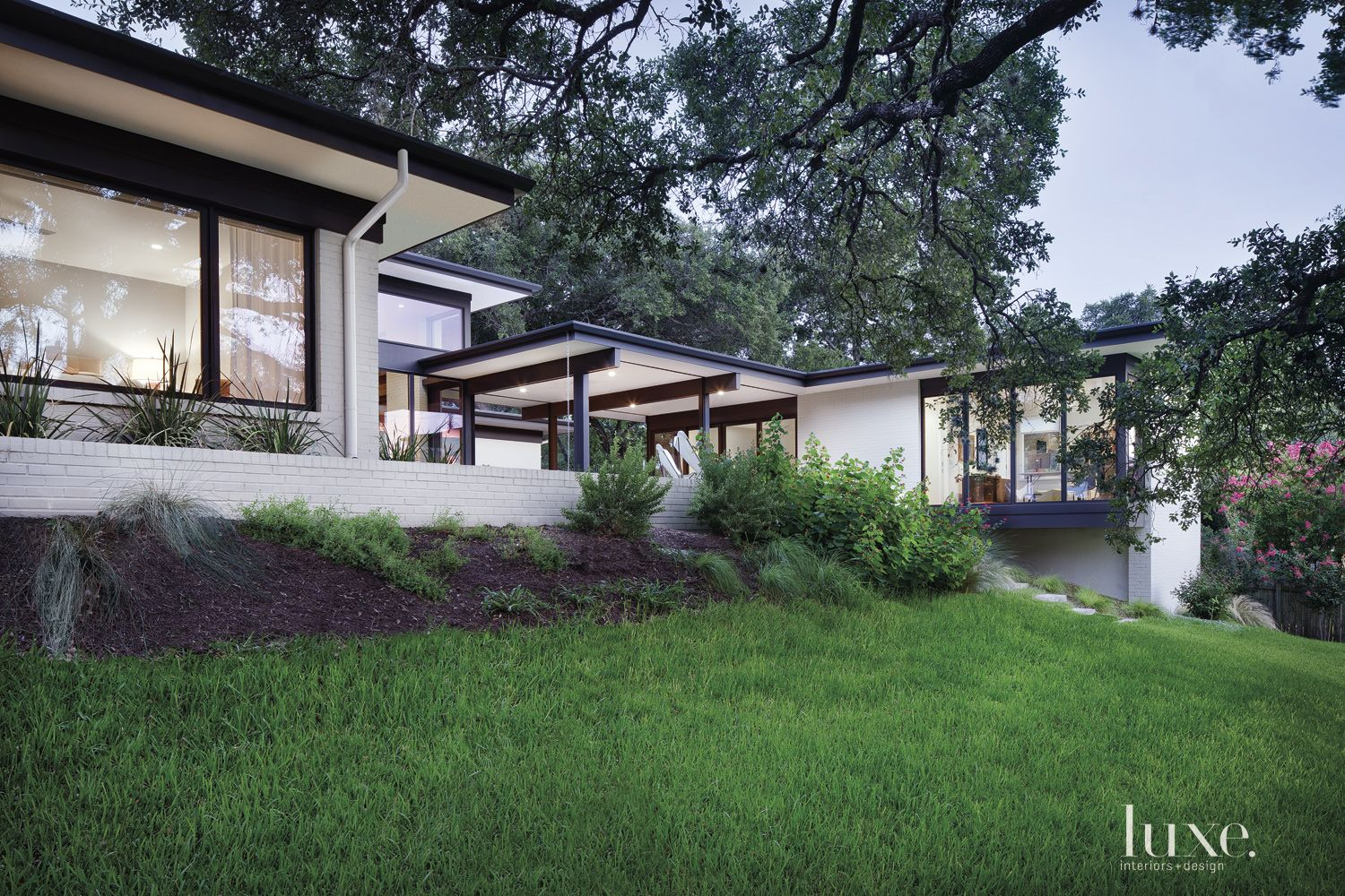 Contemporary Neutral Exterior with Picture Windows