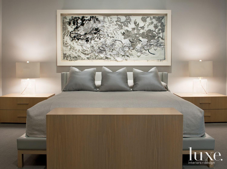 Neutral Modern Master Bedroom