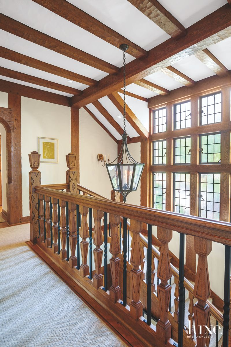 Classical Wooden Staircase