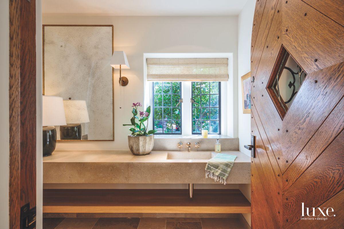 Modern Custom Daybed in the Master Bedroom