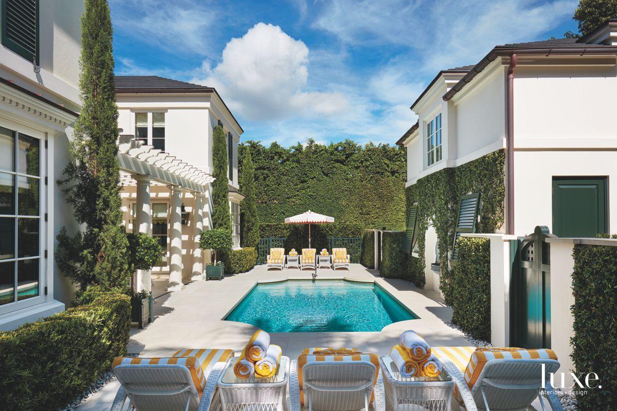 Pool with Courtyard Feel