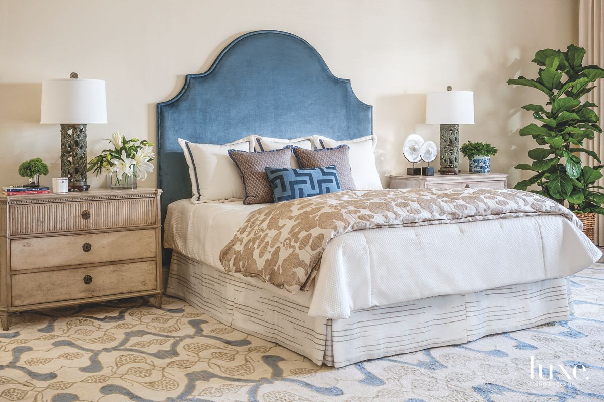 Master Bedroom with Worldly Touches