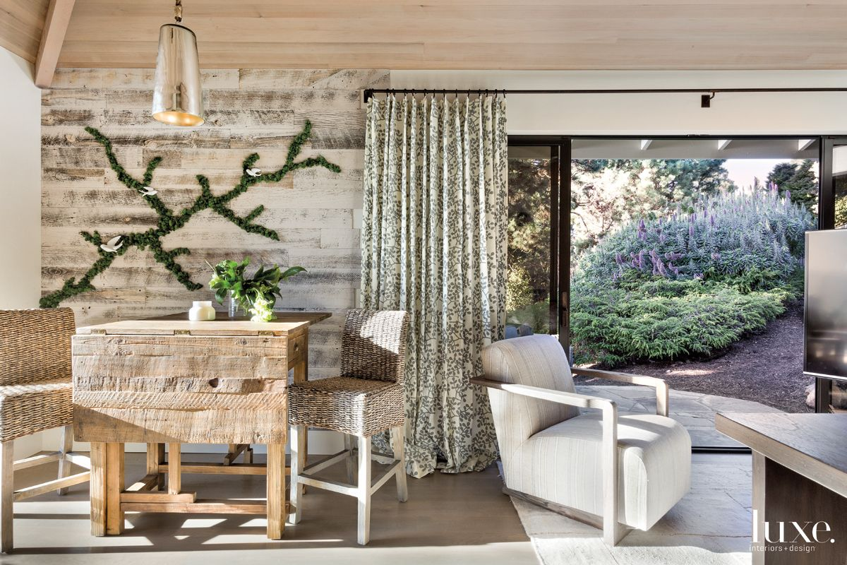 Contemporary Neutral Guesthouse with Bleached Pine Table